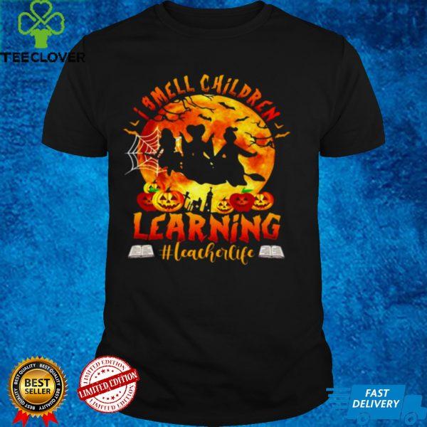I Smell Children Learning Teacherlife Happy Halloween T shirt (1)