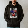 Joe Biden Lied People died Skull Flag Us Shirt