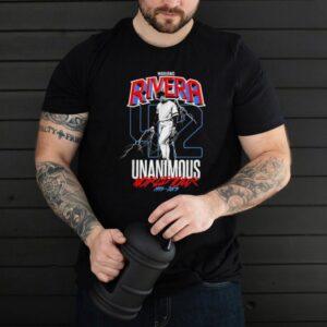 MarianoRiveraUnanimousWorldTour shirt