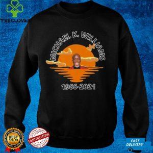 Michael K. Williams 1966 2021 essentiel sunset shirt