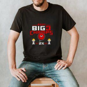 Trilogy 2 Time big 3 champs 2021 shirt