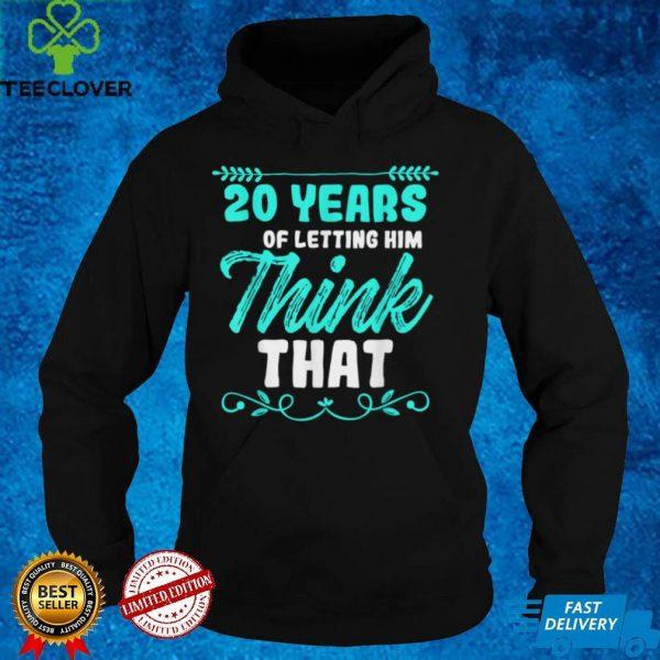 20th 20 year Wedding Anniversary Husband Wife T Shirt (1)
