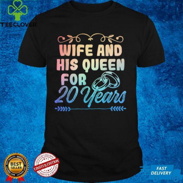 20th 20 year Wedding Anniversary Husband Wife T Shirt