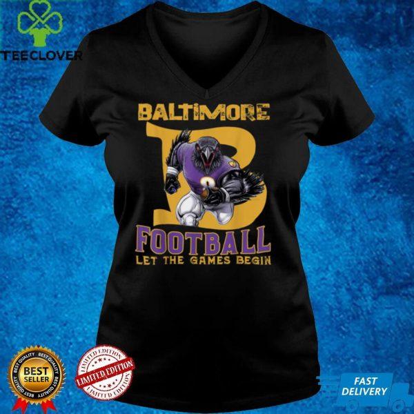 Baltimore Football Maryland Raven American Football T Shirt (1)