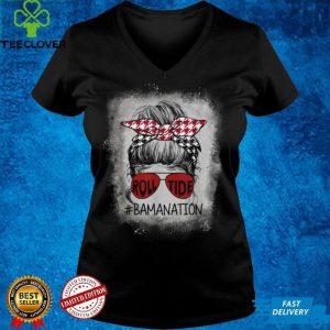 Bamanation Roll Tide Alabama All Yall The Tide Is Crimson shirt