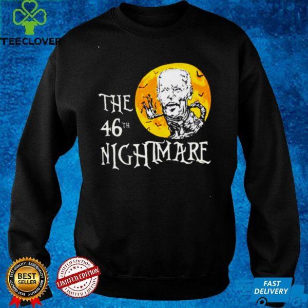Biden zombie The 46 Nightmare anti Biden Halloween shirt