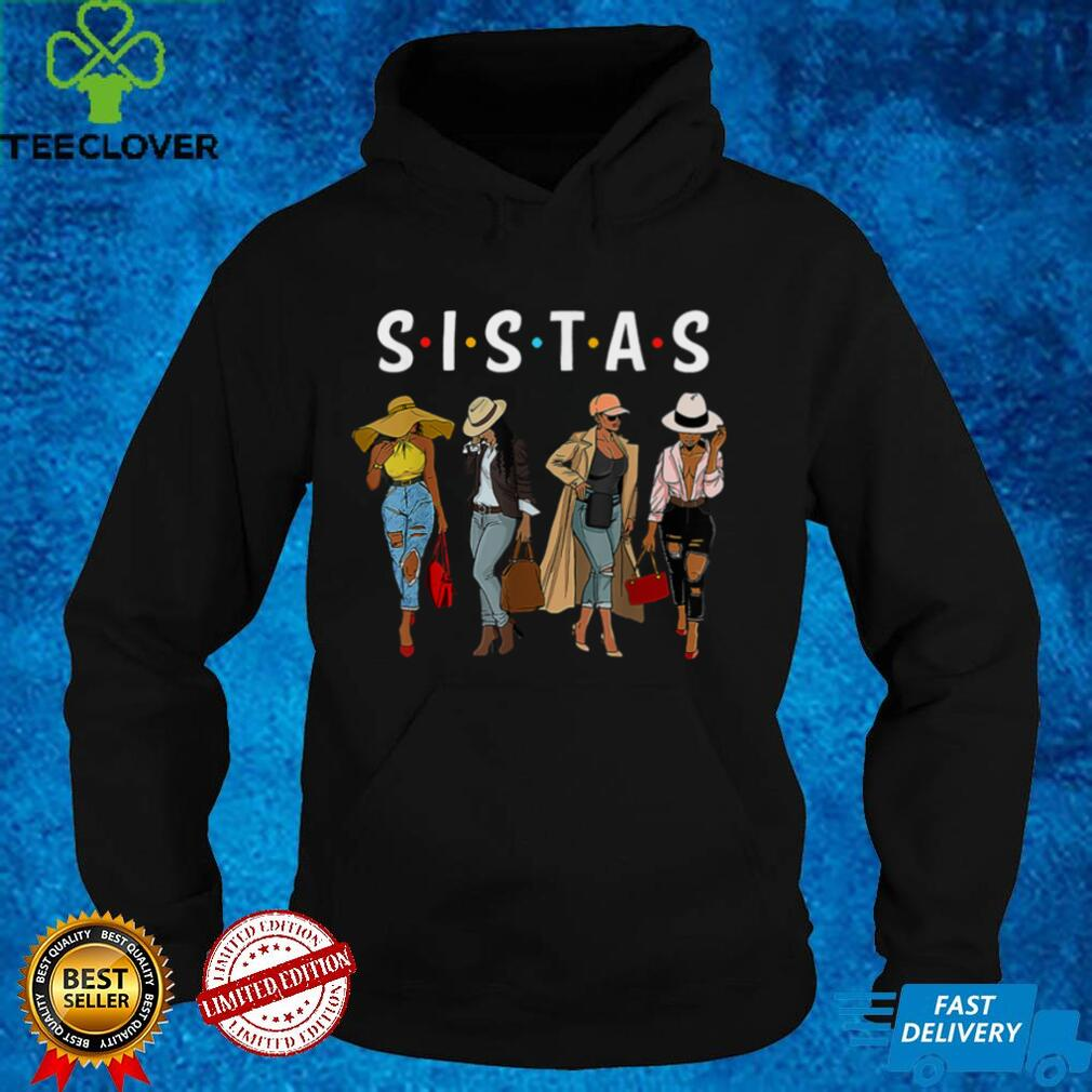 Black Sistas Queen Melanin African American Women Pride Gift T Shirt