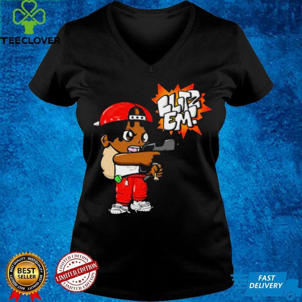 Blitz Em Red Shirt