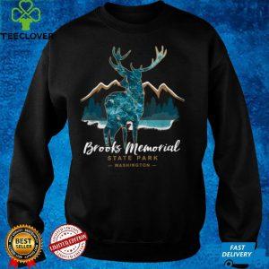 Brooks Memorial State Park Washington USA Vacation Souvenir T Shirt B09GJ9ZJ55
