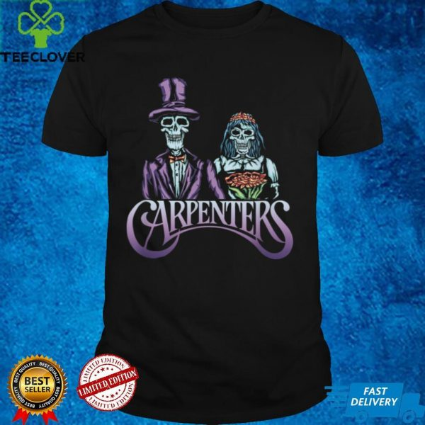 Carpenters Couple Skeleton Skull Horror Woodworker Craftsman T Shirt