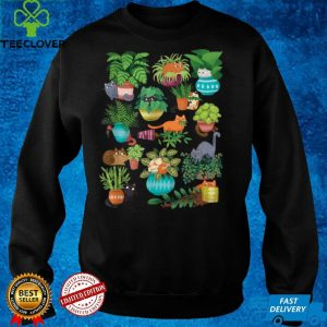 Cats And Plants Funny Garden Quote Gardener T Shirt