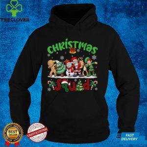 Christmas Squad Santa Reindeer Snowman Funny Xmas T Shirt