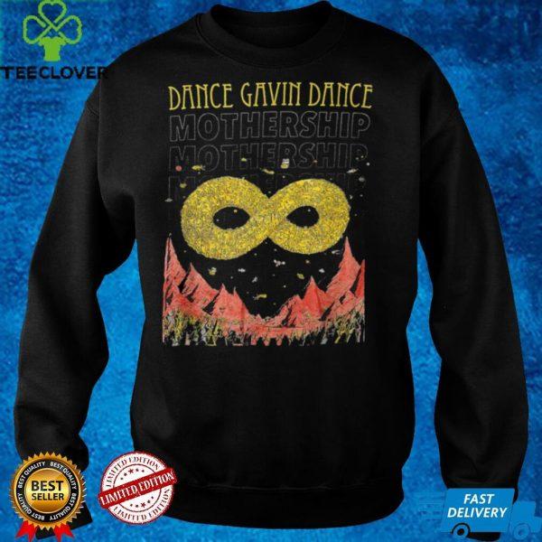Dance Gavin Dance Mothership graphic design T Shirt B09GFDYXM4