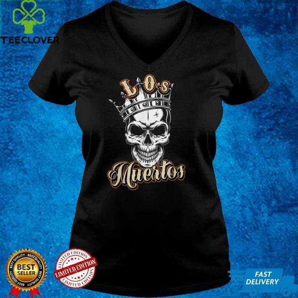 Dia De Los Muertos the Day of the Dead MexicanVintage Skull T Shirt