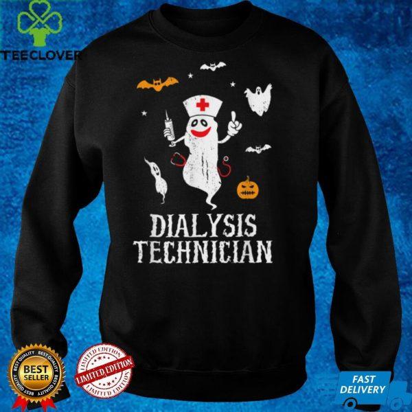 Dialysis Technician Nurse Nephrology Medical Halloween Nurse T Shirt