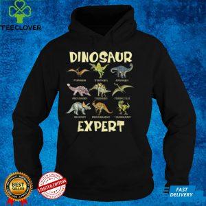 Dinosaur Expert Dinosaur Knowledge Colorful Kids T Shirt