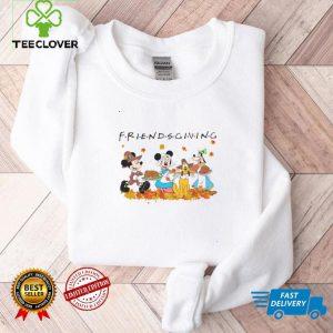 Disney Friendsgiving Mickey Minnie With Friends Shirt