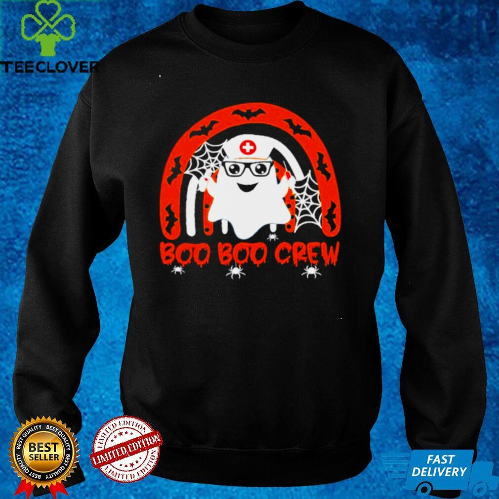 Halloween Boo Boo crew ghost nurse shirt