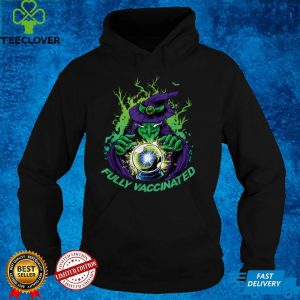Halloween Fully Vaccinated Horror Trick Treat Monster Witch T Shirt