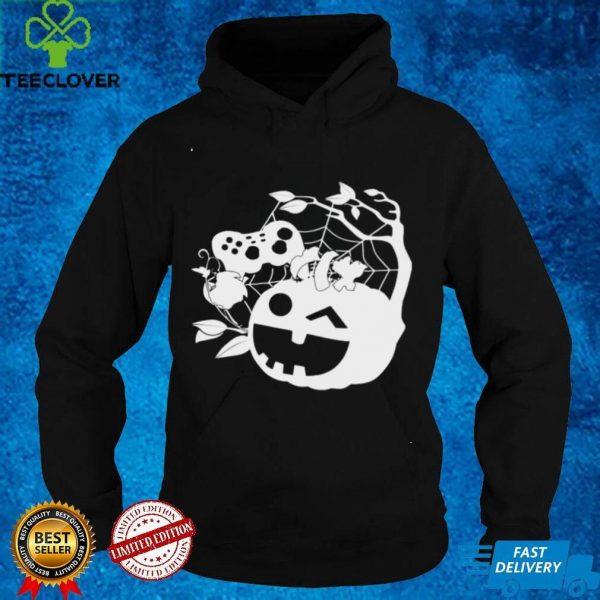 Halloween Jack O Lantern Gamer Pumpkin shirt
