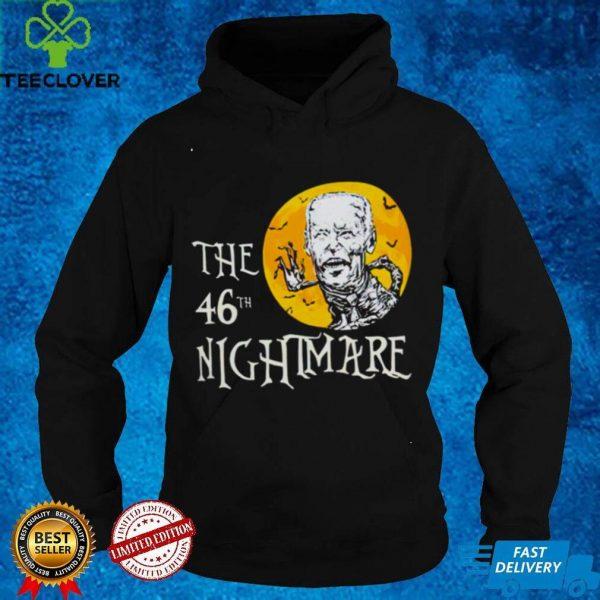 Halloween Joe Biden the 46th nightmare shirt