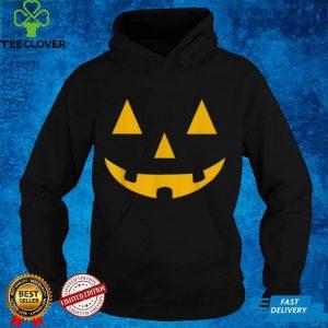 Halloween Pumpkin Face Scary Cosplay Shirt