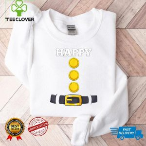 Happy Dwarf Halloween Costume Funny Gift Idea Happy Dwarf T Shirt