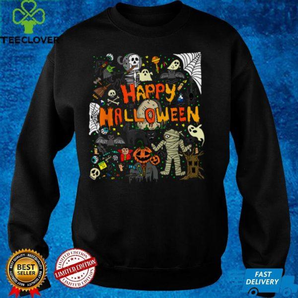 Happy Halloween Scary Retro Sweatshirt T Shirt