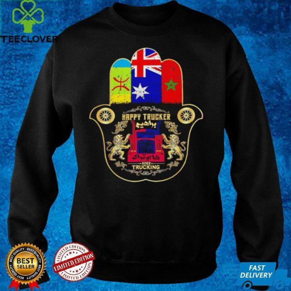 Happy trucker Babrahim Australia shirt