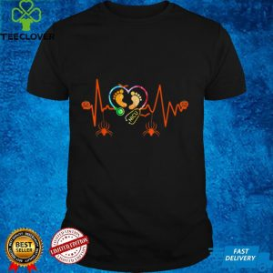 Heartbeat Halloween Nicu Nurse Funny Nurse Practitioner T Shirt