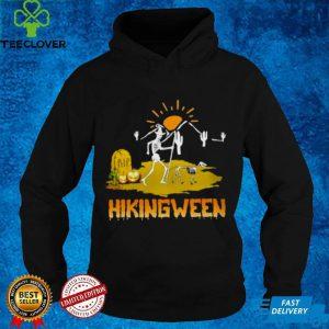 Hikingween Costume Halloween Funny Ladies shirt