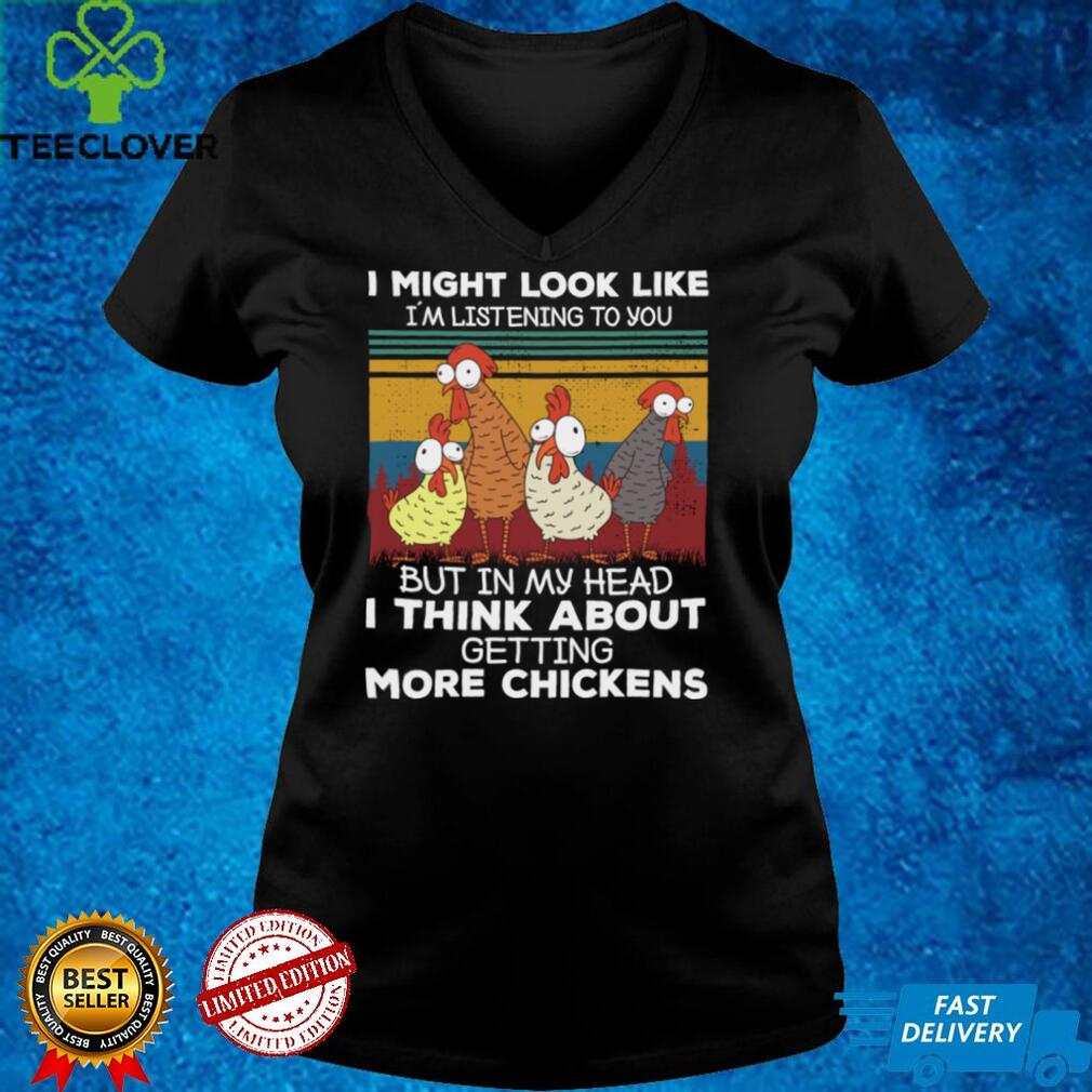 I Am Thinking About Getting More Chickens Farming Farmer Pullover Hoodie