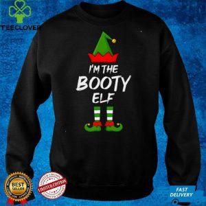 I'm The Booty Elf Funny Matching Family Elf Christmas Sweatshirt