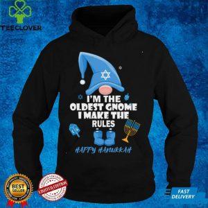 I'm The Oldest Gnome I Make The Rules Happy Hanukkah Jewish Long Sleeve T Shirt