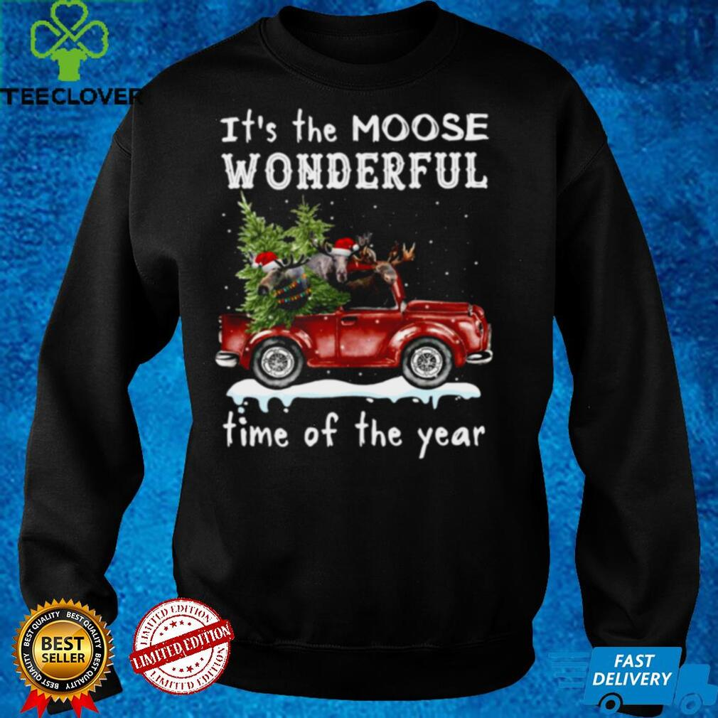It's The Moose Wonderful Time Of The Year Shirt