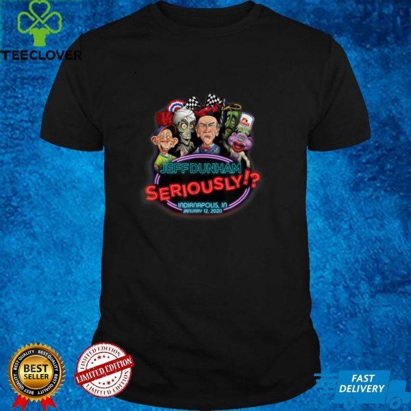 Jeff Dunham Indianapolis IN T Shirt
