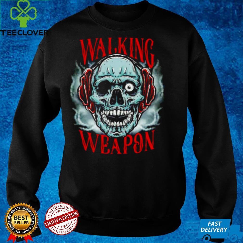 Josh Alexander Walking Weapon Skull shirt