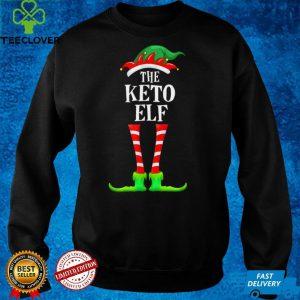 Keto Elf Family Matching Christmas Pajamas Funny Xmas T Shirt