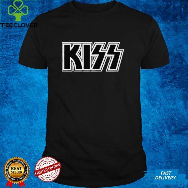 Kiss logo band music shirt
