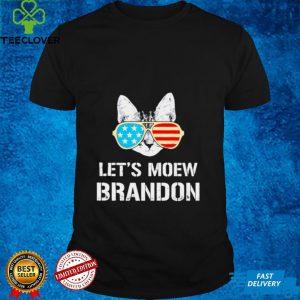 Lets Go Brandon Cat Lets Meow Brandon Shirt
