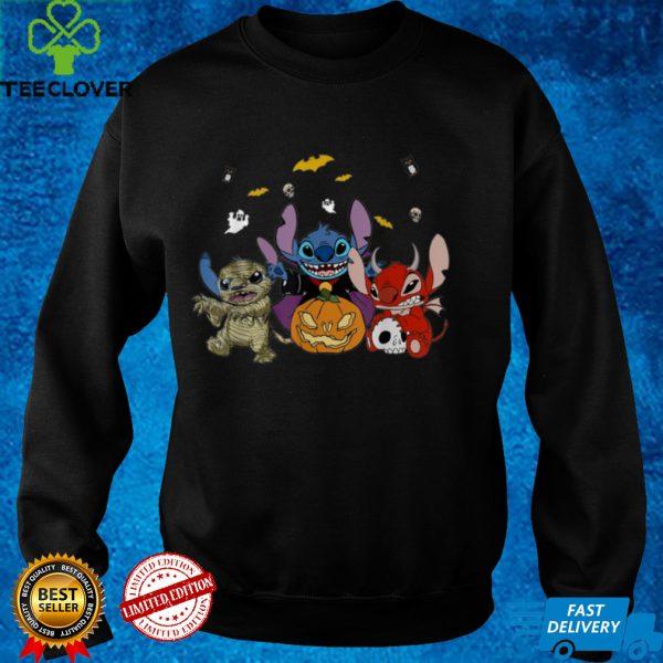 Li.lo & Stitch Halloween Stitch Pumpkin Mummy Costume T Shirt