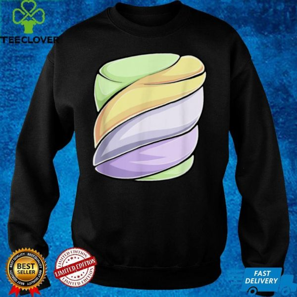 Marshmallow Smores Halloween Costume Group Camping T Shirt 3