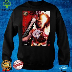 Mighty Morphin Power Rangers Battle Damaged Red Ranger Jason Shirt