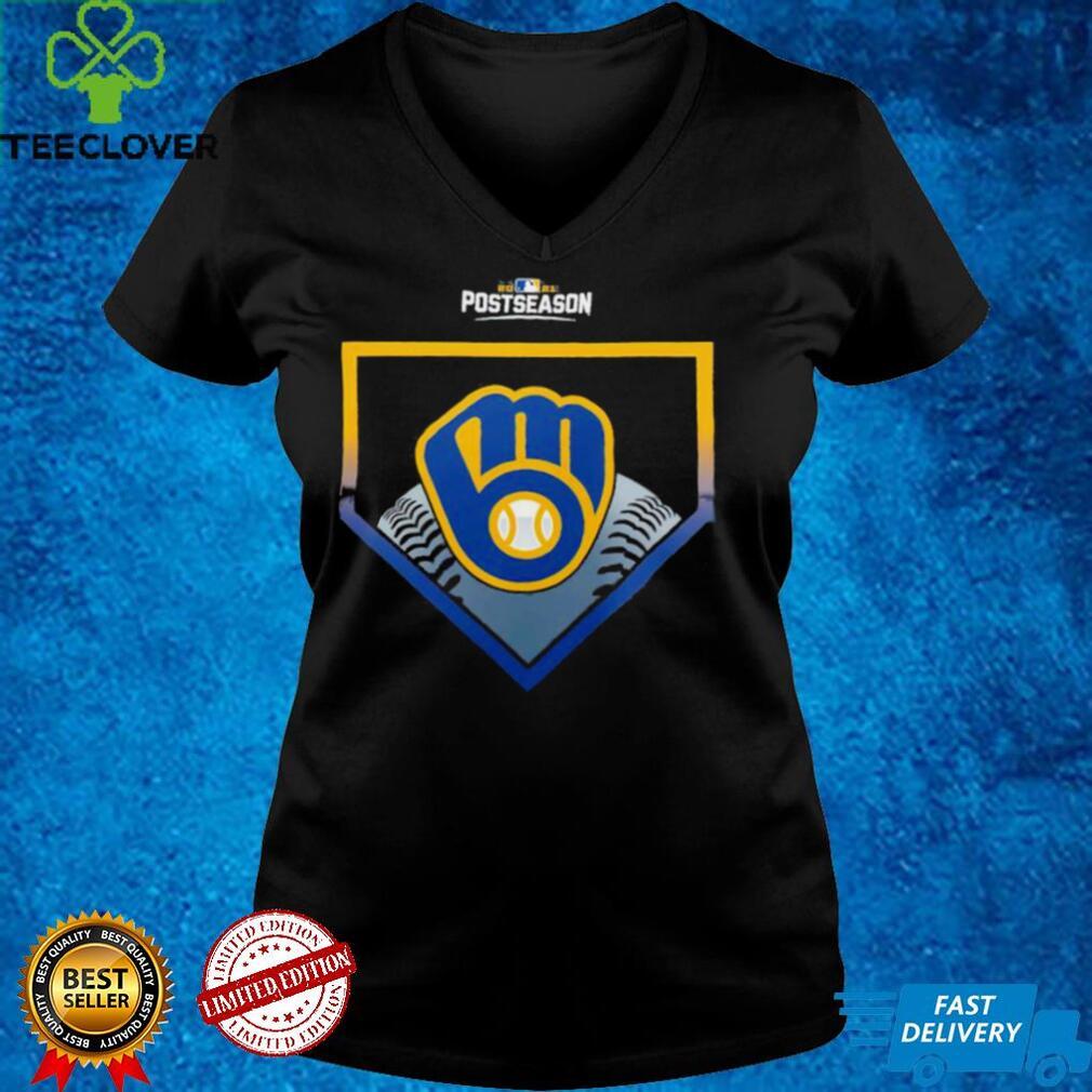 Milwaukee Brewers 2021 Postseason Around the Horn shirt