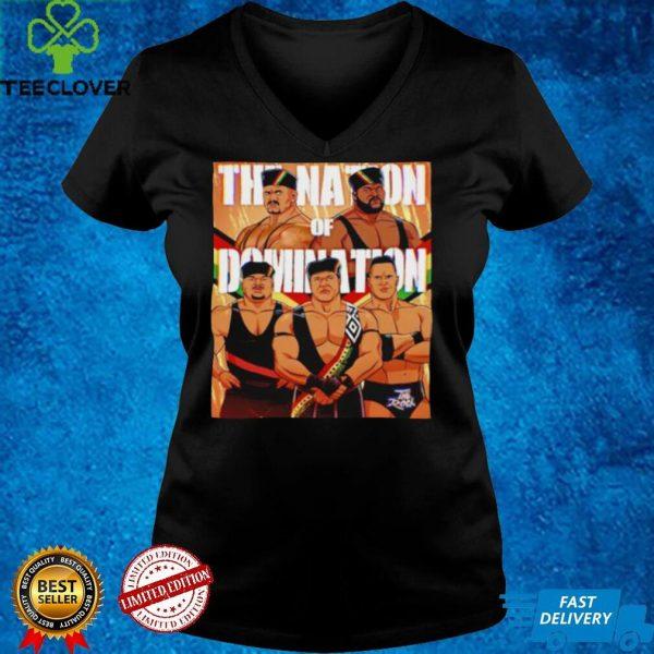 Nation of domination faarooq kama rock shirt