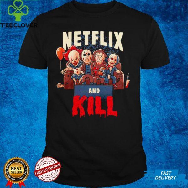 Netflix and kill Halloween shirt