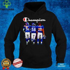 New York Giants champion Strahan Taylor Manning signatures shirt