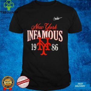 New York Mets 1986 35th anniversary infamous shirt