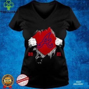 Official Blood Inside Me Atlanta Braves 2021 Champion Shirt