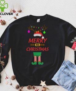 Official Merry Christmas Santa ELF T Shirt